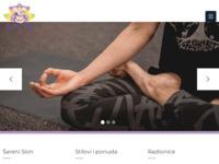 Frontpage screenshot for site: Šareni Slon (http://sareni-slon.hr)