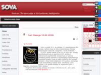Slika naslovnice sjedišta: SOVA - Sustav Obrazovanja u Vitrualnom Ambijentu (http://sova.mef.hr)