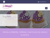 Slika naslovnice sjedišta: Slatka Ideja - Sve za slastice (http://slatkaideja.hr/)