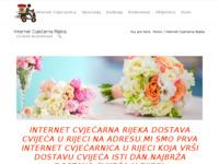 Slika naslovnice sjedišta: Internet cvjećarna Rijeka - Croatia cvjećarna (http://www.croatiacvjecarna.com/internet-cvjecarna-rijeka/)