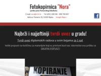 Slika naslovnice sjedišta: Fotokopirnica Nora (http://www.fotokopirnica-nora.com/)