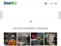 Slika naslovnice sjedišta: SmartBiz - Poslovno savjetovanje (http://www.smartbiz.hr)