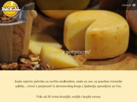 Frontpage screenshot for site: Biogal Sirana (http://sirana-biogal.hr)