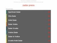 Slika naslovnice sjedišta: Zadarski portali · Zadar Press (http://zadar.press/)