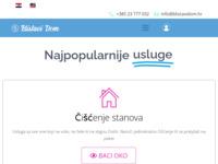 Slika naslovnice sjedišta: Blistavi dom - Servis za čišćenje (http://blistavidom.hr)