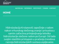 Slika naslovnice sjedišta: Hidroizolacija Krstanović (http://hidroizolacija-krstanovic.hr)