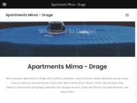 Slika naslovnice sjedišta: Mima - Apartmani sa panoramskim pogledom na Kornatski arhipelag – Drage (http://www.apartmani-mima.com)