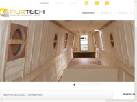 Frontpage screenshot for site: Purtech - hidroizolacijski i antikorozivni sustavi (http://www.purtech.hr)