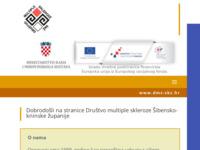 Slika naslovnice sjedišta: Društvo multiple skleroze Šibensko-kninske županije (http://dms-skz.hr)