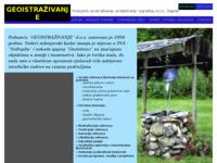 Frontpage screenshot for site: Geoistraživanje - bušenje zdenaca (http://www.geoistrazivanje.com)