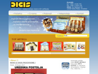 Frontpage screenshot for site: Digis (http://digis.hr)