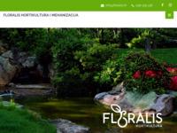Slika naslovnice sjedišta: Floralis hortikultura, uređenje okoliša, vrtlarstvo i urbano šumarstvo (http://floralis.hr/)