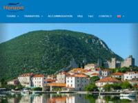 Frontpage screenshot for site: Dubrovnik turističko vođenje, privatni transferi i izleti (http://dubrovnik-tours.hr)