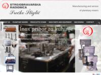Slika naslovnice sjedišta: Strojobravarska radionica Srećko Štiglić Zagreb (http://www.stiglic.hr)