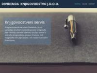 Slika naslovnice sjedišta: Knjigovodstveni Servis - Dividenda (http://www.dividenda-knjigovodstvo.hr)
