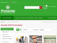Slika naslovnice sjedišta: Usluge zaštite na radu (http://preventa.hr/usluge-zastite-na-radu.html)