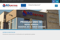 Frontpage screenshot for site: RO-TERMO rashladna oprema i HVAC sistemi (http://ro-termo.hr/)