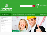 Slika naslovnice sjedišta: Preventa d.o.o. (http://preventa.hr)