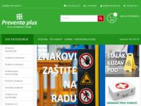 Slika naslovnice sjedišta: Preventa Plus (http://znakovisigurnosti.eu)