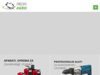 Slika naslovnice sjedišta: Profi Agro - Profesionalni alati i hobby alati (http://profiagro.hr)