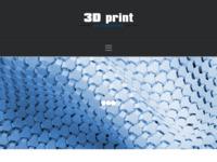 Slika naslovnice sjedišta: 3d print - Usluga 3d print-a i prodaje filamenata i 3d printera (http://3d-print.com.hr/)