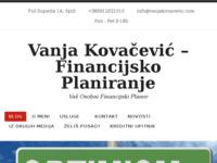 Slika naslovnice sjedišta: Financijsko Planiranje & Savjetovanje – Vaš Osobni Financijski Savjetnik (http://vanjakovacevic.com)
