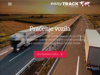 Slika naslovnice sjedišta: GPS praćenje vozila - easyTRACK (http://www.easytrack.hr)