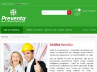Slika naslovnice sjedišta: Zaštita na radu Zagreb (http://preventa.hr/zastita-na-radu-upit)