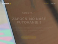 Slika naslovnice sjedišta: Sobota IT, za informatičke usluge i trgovinu (http://www.sobota-it.hr)