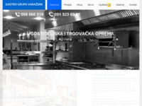 Frontpage screenshot for site: Gastro Grupa (http://www.gastrogrupa.hr)