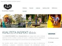 Slika naslovnice sjedišta: Sigurnost i kvaliteta na prvom mjestu! - Kvaliteta inspekt d.o.o. (http://www.kvalitetainspekt.hr/)