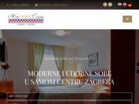Frontpage screenshot for site: Hotel Croatia Zagreb (http://hotel-croatia.com.hr/)