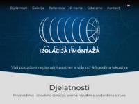 Slika naslovnice sjedišta: Cepelin d.o.o., za izolaciju, montažu i usluge (http://www.cepelin.hr/)