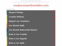Slika naslovnice sjedišta: CroatiaAirportTransfers - Jeftini taksi transferi iz/do zračnih luka u Hrvatskoj (http://croatia-airporttransfers.com/)