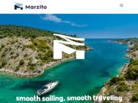 Frontpage screenshot for site: Marzito Travel - Turistička agencija (http://www.marzito.com)