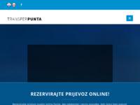 Slika naslovnice sjedišta: Transfer Punta prijevoz putnika (http://transfer-punta.com/)