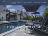 Slika naslovnice sjedišta: First apartment Zadar, Hrvatska (http://firstapartment.eu)