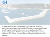 Slika naslovnice sjedišta: GI grupa - konzalting, nadzor, projektiranje (http://gin.hr)