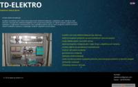 Frontpage screenshot for site: td-elektro (http://td-elektro.hr)