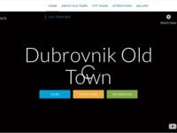 Frontpage screenshot for site: Dubrovnik Old Town - Ture, Atrakcije, Informacije (http://dubrovnik-old-town.com)