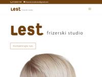 Slika naslovnice sjedišta: Frizerski studio Lest (http://www.lest.hr)