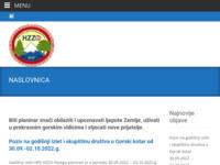 Slika naslovnice sjedišta: Hrvatsko planinarsko društvo Hrvatskog zavoda za zdravstveno osiguranje (http://www.hpd-hzzo.hr/)