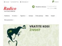 Slika naslovnice sjedišta: Prirodne boje za kosu - Radico Hrvatska (http://www.radico.hr/)