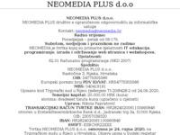 Slika naslovnice sjedišta: Kreiramo Vašu digitalnu prisutnost - Neomedia digitalna agencija (http://neomedia.hr)