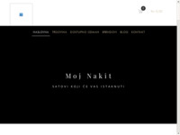 Frontpage screenshot for site: Moj nakit (http://www.moj-nakit.com.hr)