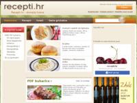 Slika naslovnice sjedišta: Recepti - tradicionalni domaći recepti (http://www.recepti.hr/)