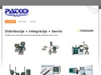 Frontpage screenshot for site: PATKO d.o.o. - Mjerenja i automatizacija (http://www.patko.hr)