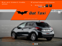 Slika naslovnice sjedišta: BAT TAXI - Sigurna vožnja je najbolja vožnja! (http://bat-taxi.hr)