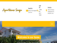 Frontpage screenshot for site: Apartmani Sanja – Apartmani za najam (http://www.apartmanisanja.com)
