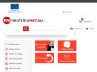 Frontpage screenshot for site: Neutrinometali - Metalne Ograde, Vijci i Vrata (http://www.neutrinometali.hr)